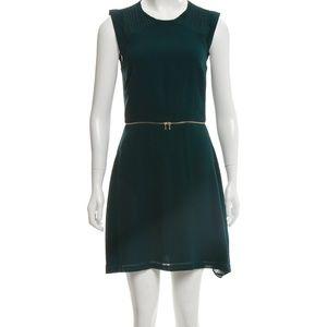 SANDRO Cap Sleeve Mini Dress